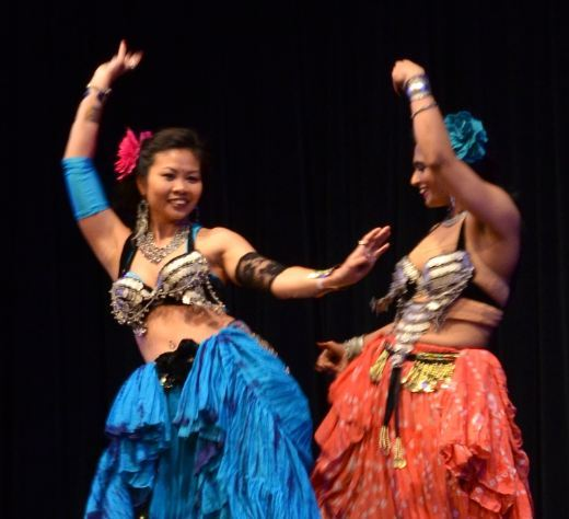 5th Element Dancers supports and performing with New Plymouth Indian Community to Diwali