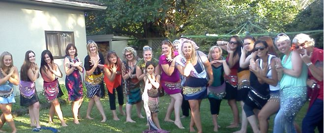 Belly dancing Hens party a hit!