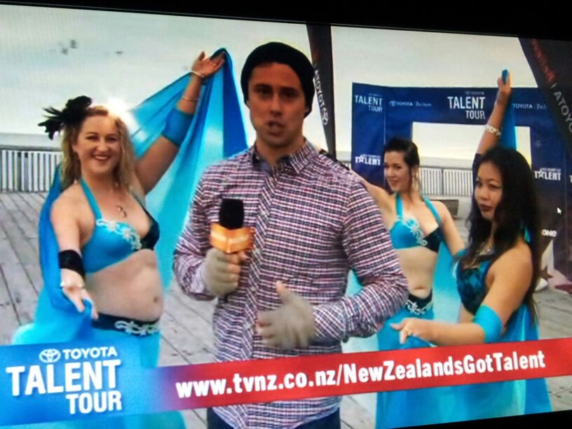 5th Element Dancers-showcase on TVNZ-NZGot talent