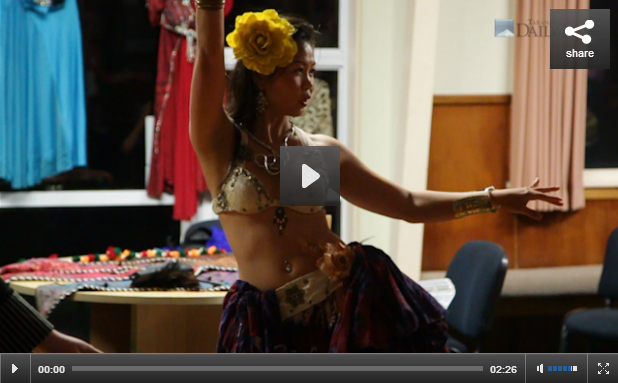 Belly dancing brings fulfilment